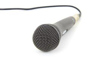 Mikrophon für Karaoke
