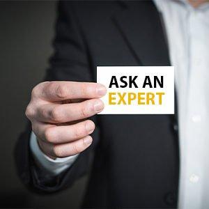 Visitenkarte eines Experten einer Präsentations Agentur